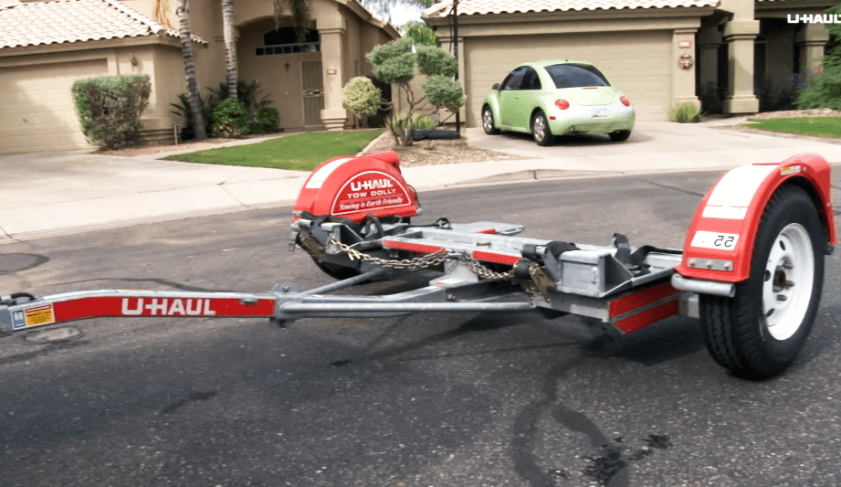 Uhaul car dolly