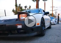 All day drifting session on the streets of LA – life is good!
