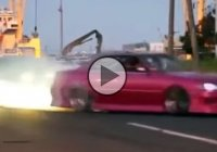Illegal street drifting – where, if not on the streets of Japan!