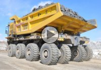 The Largest Chinese Mining Truck – The WTW220E!