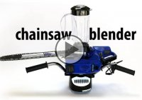 The Chainsaw Blender – One Of The Craziest DIY Projects You'll Ever See!