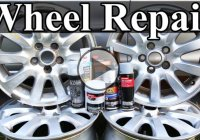 How To Repair Wheels With Curb Rash And Scratches!