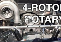 4 rotor rotary engine – How to build the never before used engine?