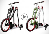 AeYO rider let's you skate, scoot and cycle- all the same time!