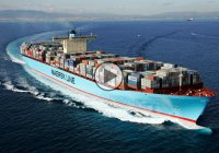 World's biggest ship – Ema Maersk is one gigantic container ship