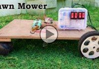 DIY Lawn Mower – An easy and affordable way to build a grass cutter