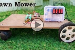 DIY Lawn Mower