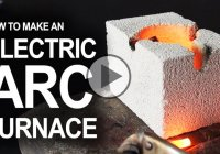 Electrical Arc Furnace and how to build one on a budget!