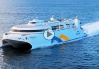 Fastest ship in the world features Boeing 747 Engine-based turbines!