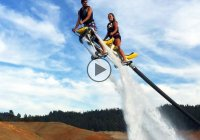 Jetovator – The perfect hydro bike for crazy shenanigans in water!