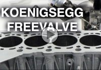 Koenigsegg Free Valve – The camless engine promises more power!