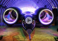 Thrust SSC is the fastest car in the world which broke the sound barrier!