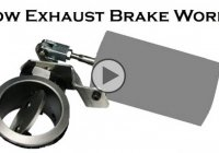 Exhaust brakes : What benefits do they bring and how do they work?!?