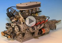 These Guys Built a Working Miniature V8 Engine Model From Scratch!