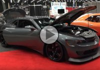 This Car Is Absolutely SICK – A 1500 Hp Wide Body Chevrolet Camaro!
