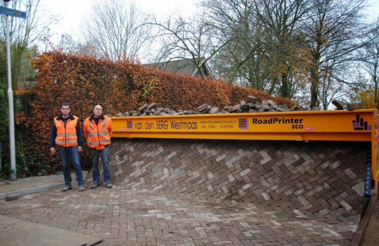 RoadPrinter Paving Machine