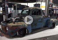 """Old Smokey"" – This 1949 Ford F-1 Cummins Shop Truck Is Astonishing!"