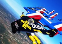 Alpha Jetman – Humans can finally fly among the mighty jets!