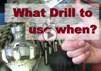 Drill bits – How to choose a suitable drill bit for a particular job