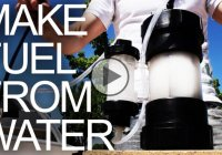 HHO Generator – How to convert water into a power fuel!