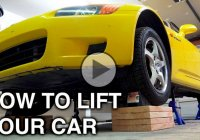 How to lift a car on all 4 jacks in the simplest and safest way!