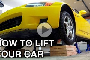 How to lift a car