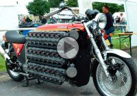 V48 engine Kawasaki pushes the boundaries of sanity!